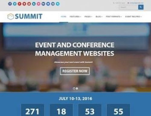 Top 10 Joomla Event and Conference Templates