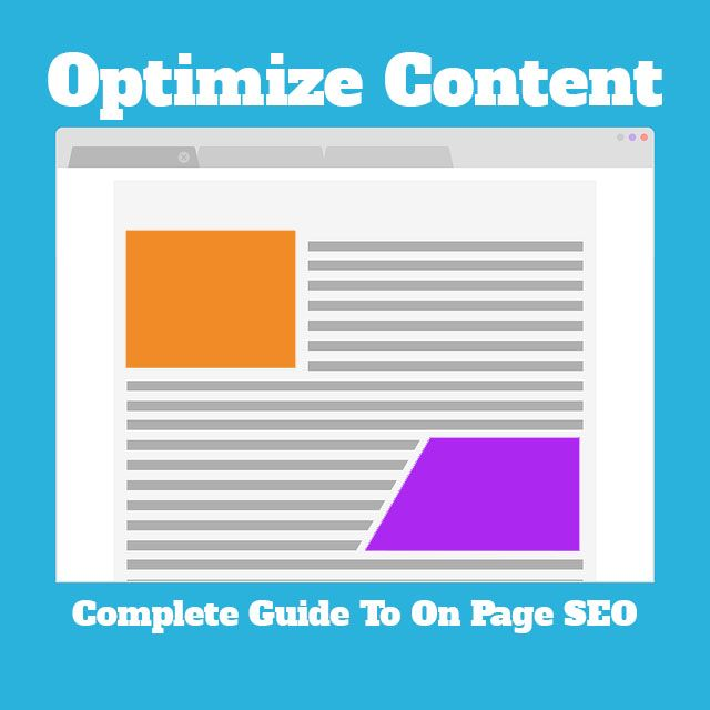 optimize content