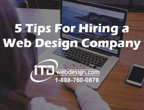 5 Tips For Hiring a Web Design Company