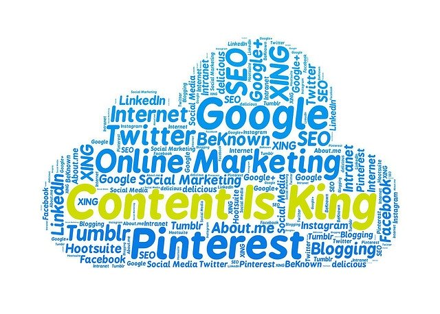 content is king, online marketing, google