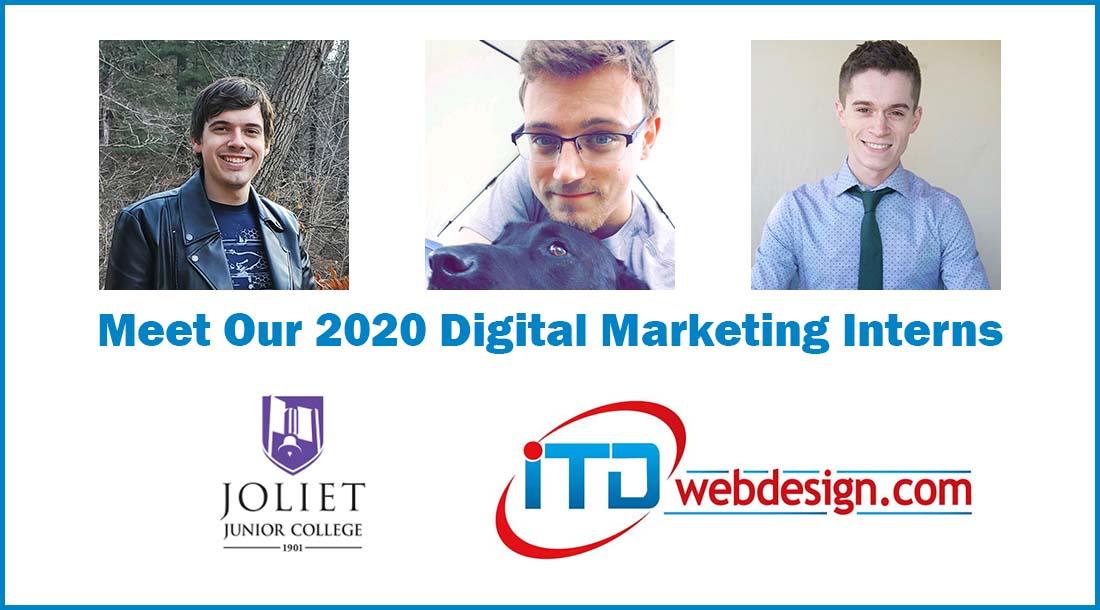 2020 Digital Marketing Interns