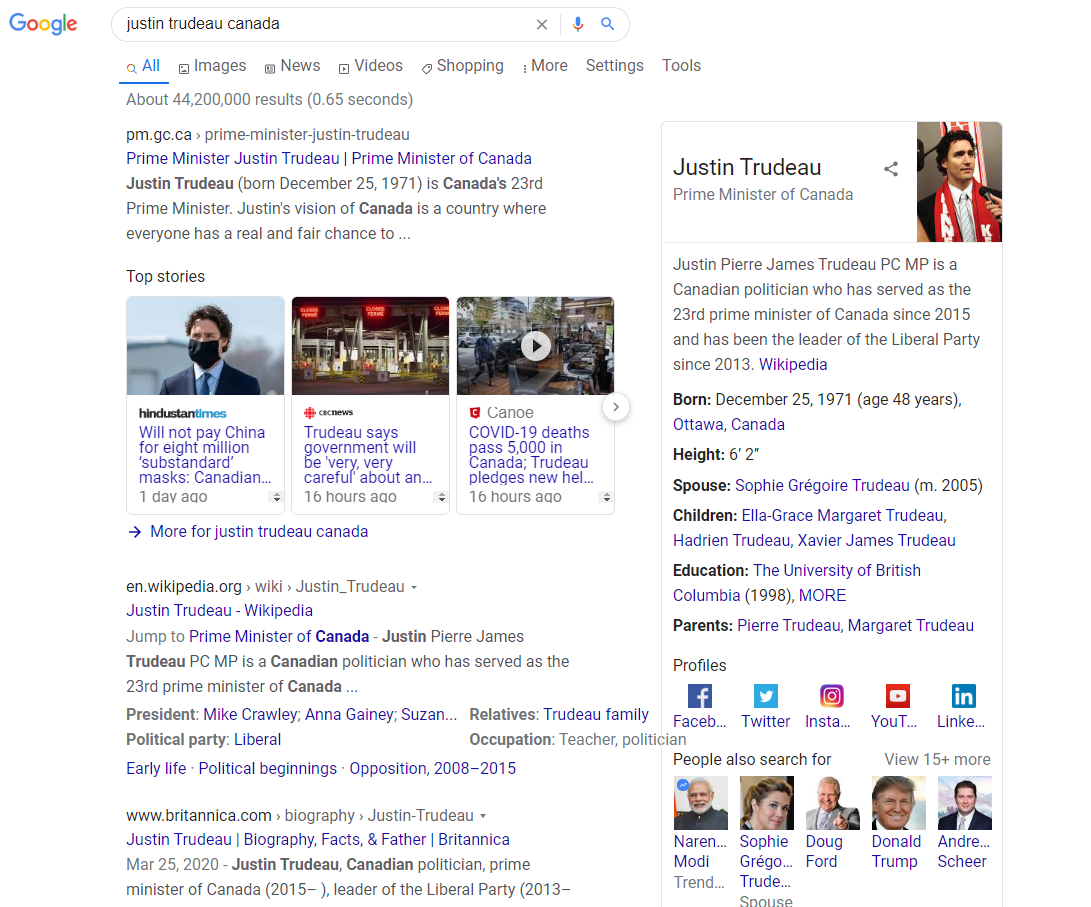 Google Entity SEO