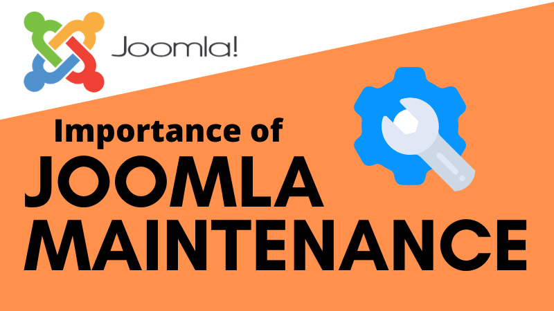 Joomla Maintenance