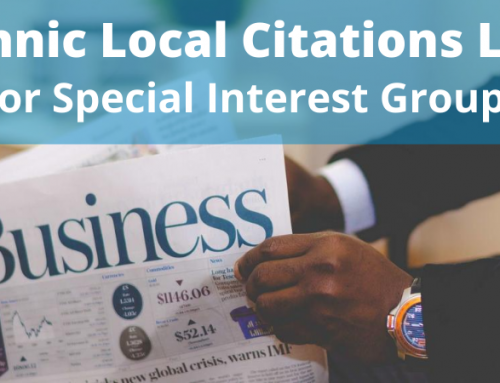 Ethnic Local Citations List For Special Interest Groups