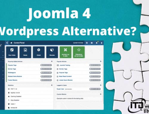 Is Joomla 4 A WordPress Alternative?
